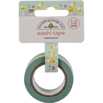 DOODLEBUG   WASHI TAPE -Tropical Punch