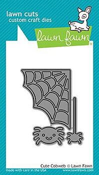 LAWN FAWN -cute cobweb