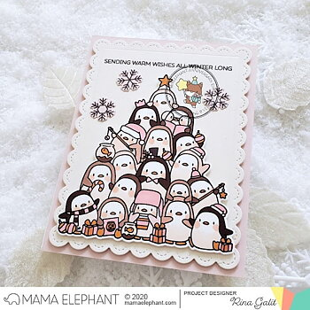 MAMA ELEPHANT-OH PENGUIN TREE