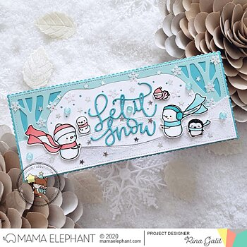 MAMA ELEPHANT-LET IT SNOW - CREATIVE CUTS