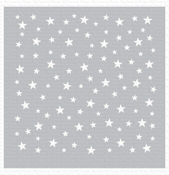 MY FAVORITE THINGS -Star Celebration Stencil
