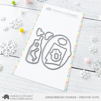 MAMA ELEPHANT-GINGERBREAD COOKIES - CREATIVE CUTS