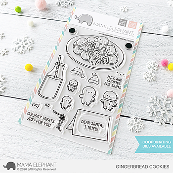 MAMA ELEPHANT-GINGERBREAD COOKIES
