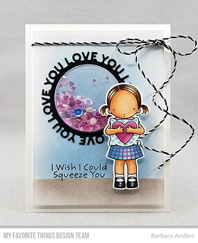 MY FAVORITE THINGS -Love You Circle Frame Die-namics
