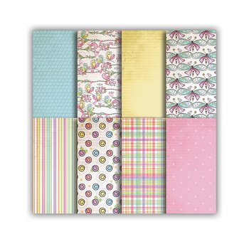 POLKADOODLES  -Vintage Candy 6x6 Inch Paper Pack
