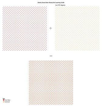 ALTENEW -Dainty Swiss Dots Stamp Set
