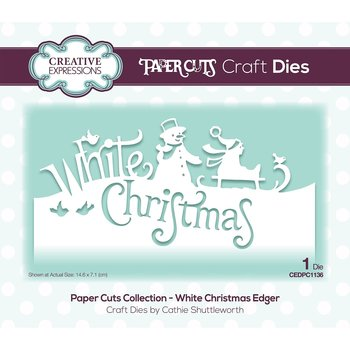 CREATIVE EXPRESSIONS-Paper cuts dies white christmas