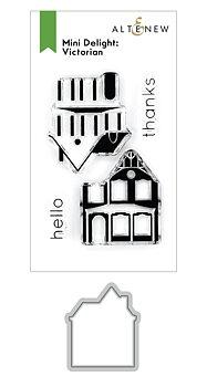 ALTENEW -Mini Delight: Victorian Stamp & Die Set