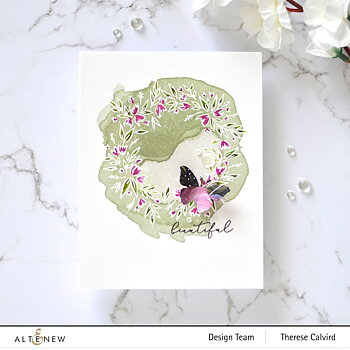 ALTENEW -Blossom Wreath Stamp Set