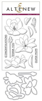 ALTENEW-Magnolias for Her Stamp & Die Bundle