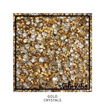 STUDIO KATIA-GOLD CRYSTALS