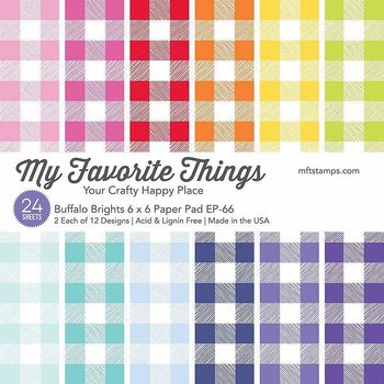 MY FAVORITE THINGS -Buffalo Brights Paper Pad