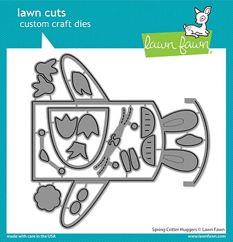 LAWN FAWN Spring Critter Huggers Dies