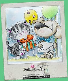 Polkadoodles -Horace & Boo Party Friends