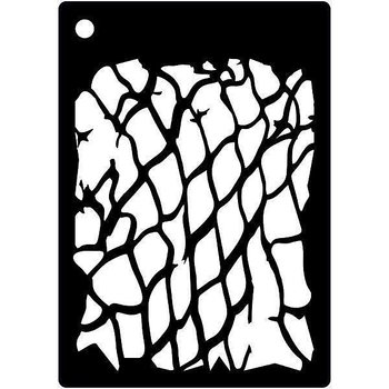 CREATIVE EXPRESSIONS-Mini Stencil FISHNET