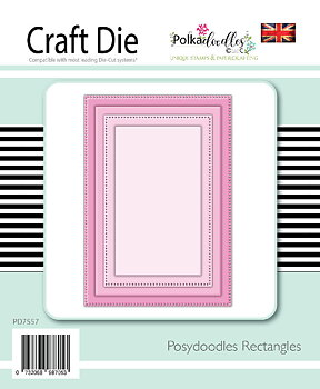 Polkadoodles -Basics - Rectangles dies