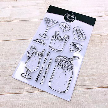 MODASCRAP CLEAR STAMPS - PARTY TIME
