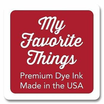 MY FAVORITE THINGS Premium Dye Ink Cube Electric Red