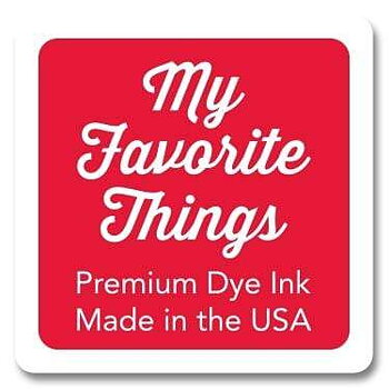 MY FAVORITE THINGS Premium Dye Ink Cube Red Hot