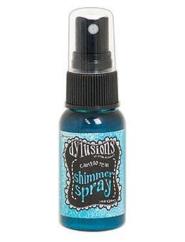 RANGER Dylusions Shimmer Spray Calypso Teal, 1oz