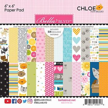 Bella BLVD -Chloe 6x6 Inch Paper Pad