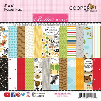 Bella BLVD -Cooper 6x6 Inch Paper Pad