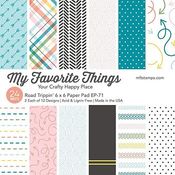 MY FAVORITE THINGS -Road Trippin' Paper Pad