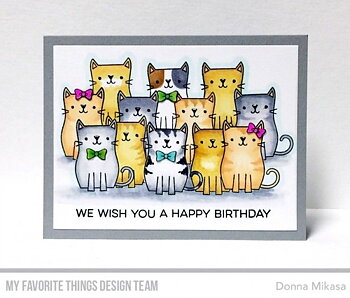 MY FAVORITE THINGS -Cute Cats Clear Stamps