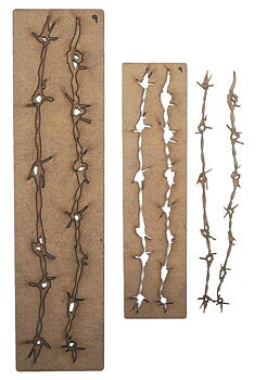 CREATIVE EXPRESSIONS-Art-Effex Barbed Wire Border