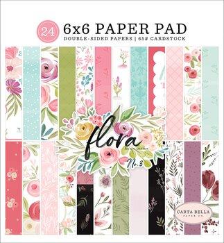 ECHO PARK PAPER- CARTA BELLA Flora No. 3 6x6 Paper Pad