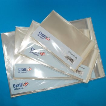 Craft UK Cello Bags 5x7 Inch