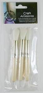 Cosmic Shimmer pk 3 Dusting Brushes