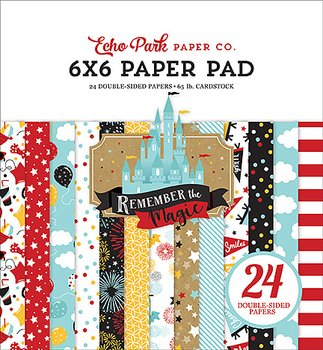 ECHO PARK PAPER- Remember The Magic 6x6 Inch Paper Pad
