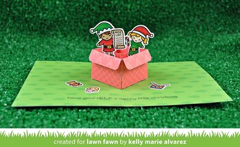 LAWN FAWN   -mini pop-up box