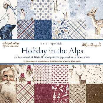 MAJA DESIGN Holiday in the Alps - Paper Pack