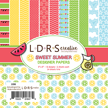 LDRS- Creative Sweet Summer 6x6 Inch Paper Pack