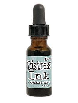 RANGER Tim Holtz Distress Ink Pad Re-Inker Speckled Egg 0.5oz