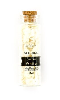 ALTENEW -Sequins - Satin White