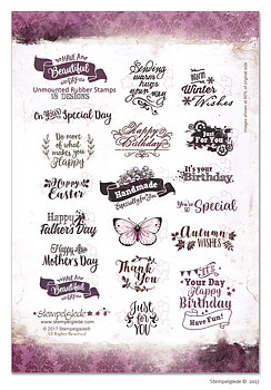 STEMPELGLEDE STAMPS -Have a Beautiful Day