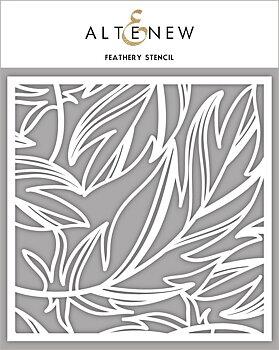 ALTENEW -Feathery Stencil
