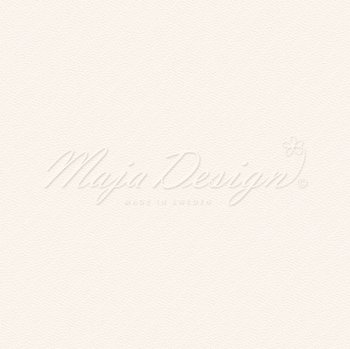 MAJA DESIGN Monochromes - Shades of Miles - Soft White 6x6