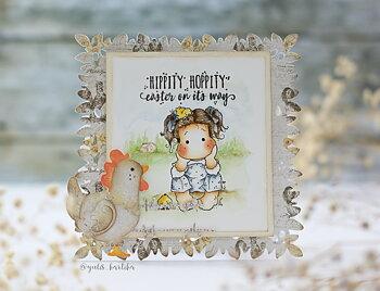 MAGNOLIA Hippity Hoppity Chicken Tilda