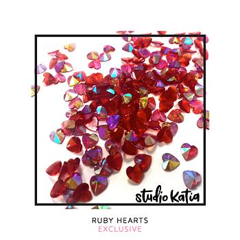 STUDIO KATIA-RUBY HEARTS - EXCLUSIVE