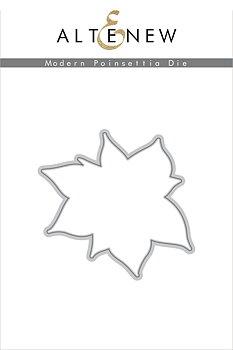 ALTENEW -Modern Poinsettia Die