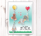 LDRS-Creative  Up and Away Clear Stamps