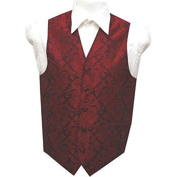 Väst Paisley Röd