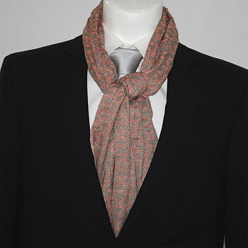 Scarf Napoli Summer Medallion Orange