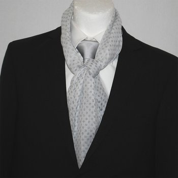 Scarf Napoli Summer Dots Grey