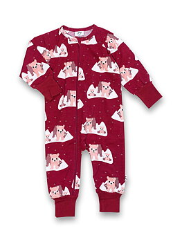 PYJAMAS MED ZIP POLAR BEARS