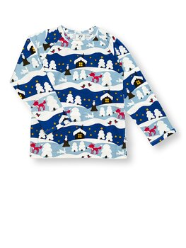 SHIRT l/s SNOWY COTTAGE